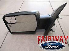 11 thru 14 F-150 OEM Ford Power Fold Heated Signal Puddle Mirror LH Driver NEW