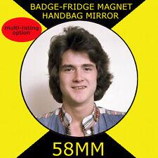 Bay City Rollers  -Les- 58 mm BADGE-FRIDGE MAGNET-BAG MIRROR