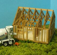 HO SCALE  ** Laser Cut **  Single Story House Under Construction Kit