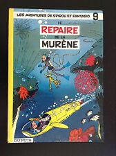 RARE Album Spirou Le repaire de la murène Franquin 1962
