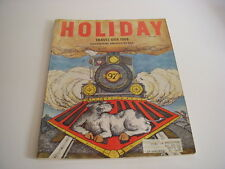 Vintage HOLIDAY Magazine, May, 1966, TRAVEL U.S.A., AMERICA BY RAIL, LAKE POWELL