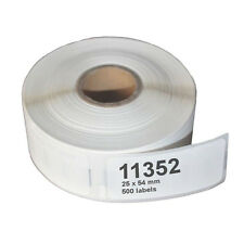 11352 Thermal Address Labels Compatible Dymo Seiko Labelwriter Printer 500/roll