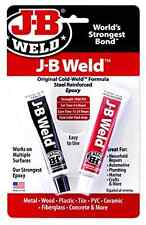 J-B Weld 8265S Cold Weld Steel Reinforced Epoxy With Hardener, 2 Oz .