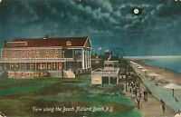 STATEN ISLAND NY – Midland Beach View Along the Beach - 1909