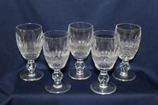 """WATERFORD CRYSTAL COLLEEN 5 SHERRY GLASSES 4 1/4"""" X 2"""""""