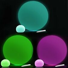 Set of 3 Glow in the Dark Balloon Ball Sensory Toys - Reusable - Stress Autism