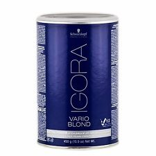 SCHWARZKOPF IGORA VARIO BLOND - EXTRA POWER UP TO 8 LEVELS OF LIFT - 15.9 OZ