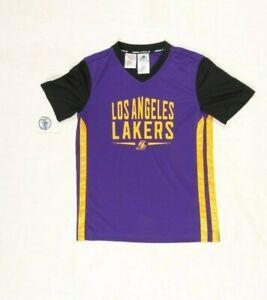 T-Shirt Adidas Lakers Größe: 11/12A Gebraucht (Cod.EBAY39) Basketball Made Cina