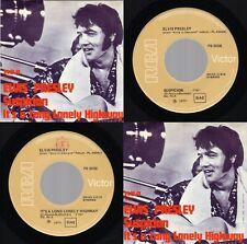 """ITALY (NM/NM) Elvis Presley """"Suspicion / Long Lonely Highway"""" RCA PB 9058 1977"""