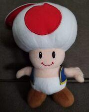 "Toad Super Mario Bros Plush Toy Nintendo 2010 Approx 6"""