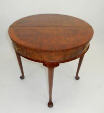 Furniture Beautiful Mid 20th Century Walnut And Satinwood Side Table Easy And Simple To Handle