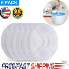 Cats Water Fountain Filters Replacement Filters for Water Dispenser 6Pcs Supply