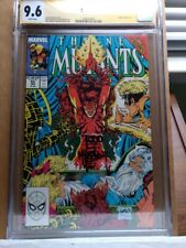The New Mutants 85 CGC 9.6 SS Todd McFarlane auto Rob Liefeld cover Pop 10