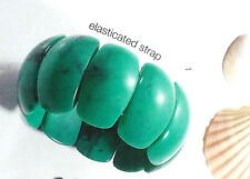 Avon Yolanda Turquoise Bracelet Stretch Statement Piece Bracelet  Rare BNIB
