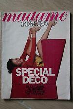 Revue MADAME FIGARO - N° 14188 AVR 1990 - SPECIAL DECO - ROLAND PETIT R HAYWORTH