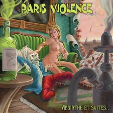 PARIS VIOLENCE Absinthe et suites 2018 12''maxi ltd to 200 green wax Oi! Punk