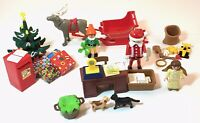 Playmobil #4161 CHRISTMAS POST OFFICE ADVENT, Nearly Complete, EUC!