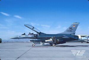 Original slide 82-038 Lockheed F-16 U.S. Air Force, USAF, 1984