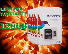 ADATA Micro SD 128GB SDHC Memory Card Mobile Phone Class 10 With SD ADAPTER