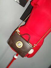 Vintage Gianni Versace brown Medusa Clutch/shoulder Bag