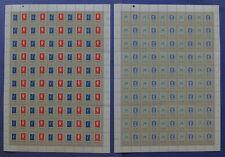 NVPH 1137-1140 COMPLETE VELLEN van 100 Amphilex 77 (Plaatfouten) PONS 1+2