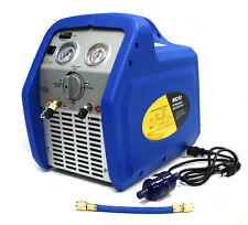 Rr250 34hp Portable Ac Refrigerant Recovery Machine 4 Hvac R410a R134a R12 R22