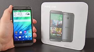 HTC One M8 16GB Unlocked Double Camera Smartphone BOX UP