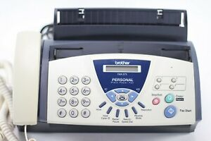 Brother FAX-575 Personal Plain Paper Fax Machine with Phone and Copier