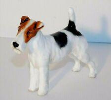 Vtg. Royal Doulton Standing Fox Terrier Dog Hn1014 Mint