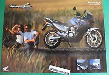HONDA MOTO MOTORCYCLE TRANSALP XL650 V ADVERTISING PUBBLICITA BROCHURE DEPLIANT