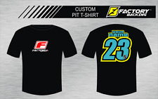 CUSTOM NAME AND NUMBER TEE SHIRT MX MOTOCROSS  Style #13