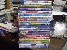 (27) Children's Animal Blu-Ray/Dvd Lot: Disney Finding Nemo Ice Age A Bug's Life