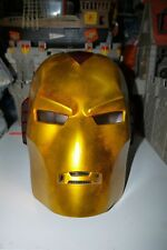2004 DISGUISE MARVEL IRON MAN HELMET RESIN PROP 1:1 LIFE SIZE HEAD