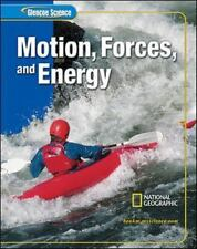 Glencoe Science Motion Forces and Energy By McGraw-Hill National Geographic Time