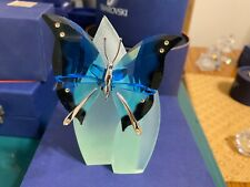 Swarovski Paradise Ambur Butterfly Blue turquoise 622735 with Box and coa