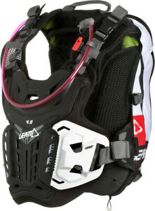 Leatt GPX 4.5 Hydra Chest Protector Black/White Adult 5018100151