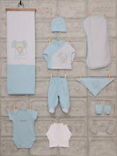 Junge Baby Erstausstattung,Geschenkset,Neugeborene,Baby Starterset, 10 Tlg.