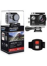 AKASO Camara accion deportiva WIFI 170º Ultra amplio Full HD 12 MP Sumergible
