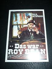 THE LIFE AND TIMES OF JUDGE ROY BEAN, film card [Paul Newman, John Huston]
