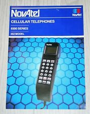 NovAtel 9300 Mobile Phone UK Sales Brochure