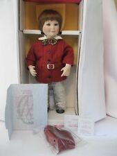 "Marie Osmond Somewhere in Time Rudy Boy Doll 15"" used w/box"