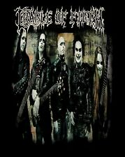 CRADLE OF FILTH cd lgo THANK YOUR LUCKY SCARS Official SHIRT LG New OOP evermore