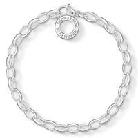 Genuine Thomas Sabo Charm Club Sterling Silver Charm Bracelet CX0032