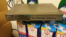 D-Link DFE-808 Ver: B1 8 Port 100Base-TX Fast Ethernet Hub