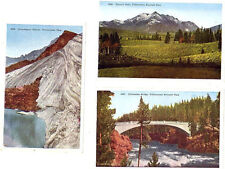 Wy - Yellowstone Park - Grasshopper Glacier Electric Peak & Chittenden Bridge