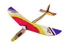 2PC Lanyu Hand Launch Balsa Wood Glider Plane DIY Build&Paint Model Kit, US 7012