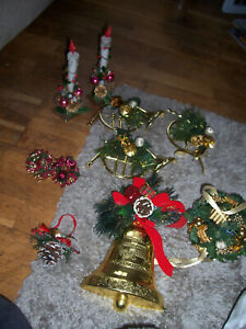 mixed joblot christmas decorations,,