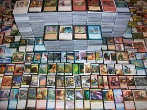 1450 cartes Magic en anglais + 10 booster scellés