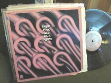 FRIJID PINK All Pink Inside 1974 US Fantasy Vinyl LP orig f9464 rare oop detroit