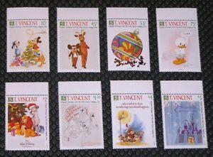 St. Vincent 1568-1575 Disney Christmas MNH
